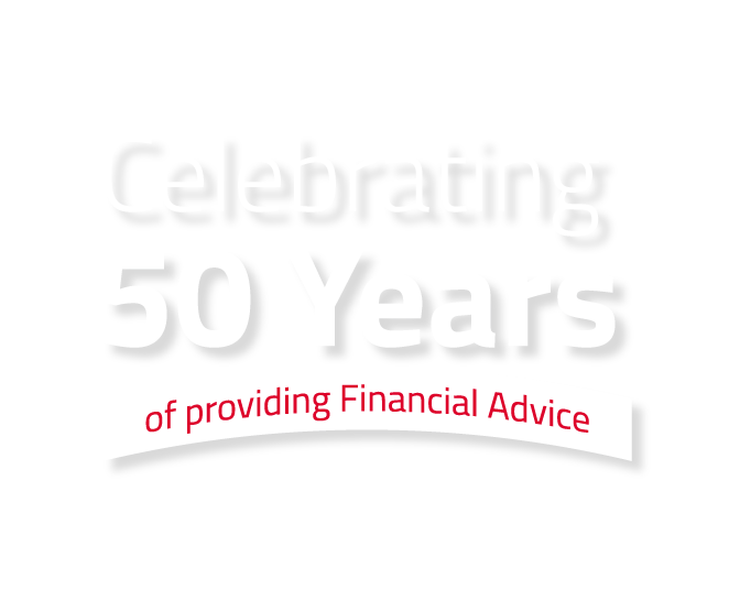 Celebrating 50 years of providing Financial Advice